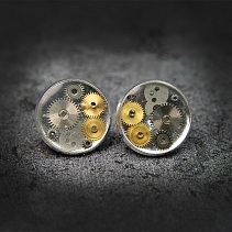 Industrial earrings - Ciner XIV