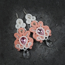 Soutache earrings - Algondo