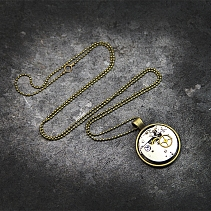 Steampunk pendant - Rater