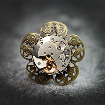 Steampunk ring - Floni
