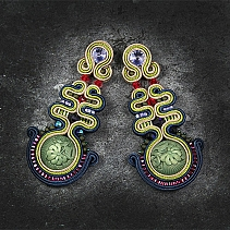 Soutache earrings - Tiempo japonesa