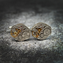 Steampunk cufflinks - Orok