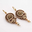 Soutache workshops - earrings